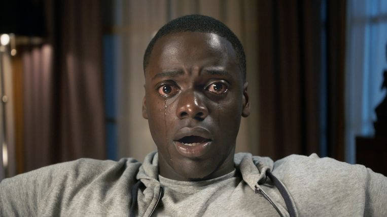 Daniel Kaluuya in 'Get Out'. Beeld RV Universal Pictures