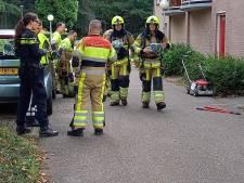 Onbeheerde grasmaaier brandt door en zorgt voor rookontwikkeling in appartementcomplex Berg en Dal