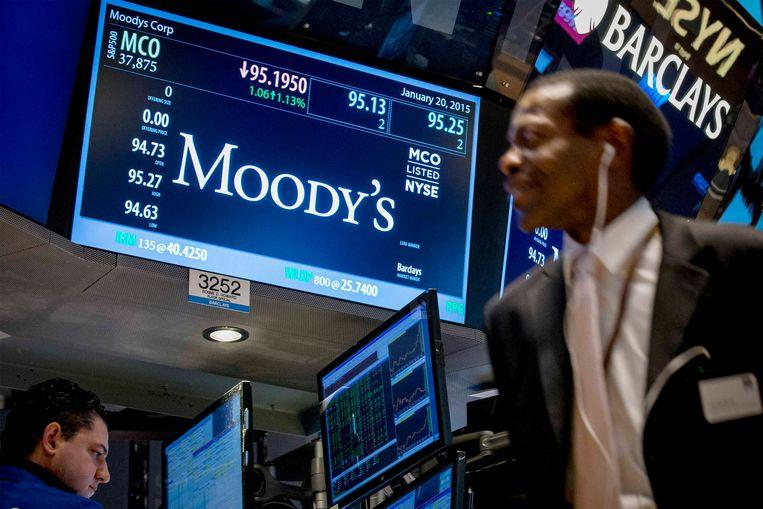 De financiële markten zijn in de ban van het oordeel van Moody's. Beeld REUTERS