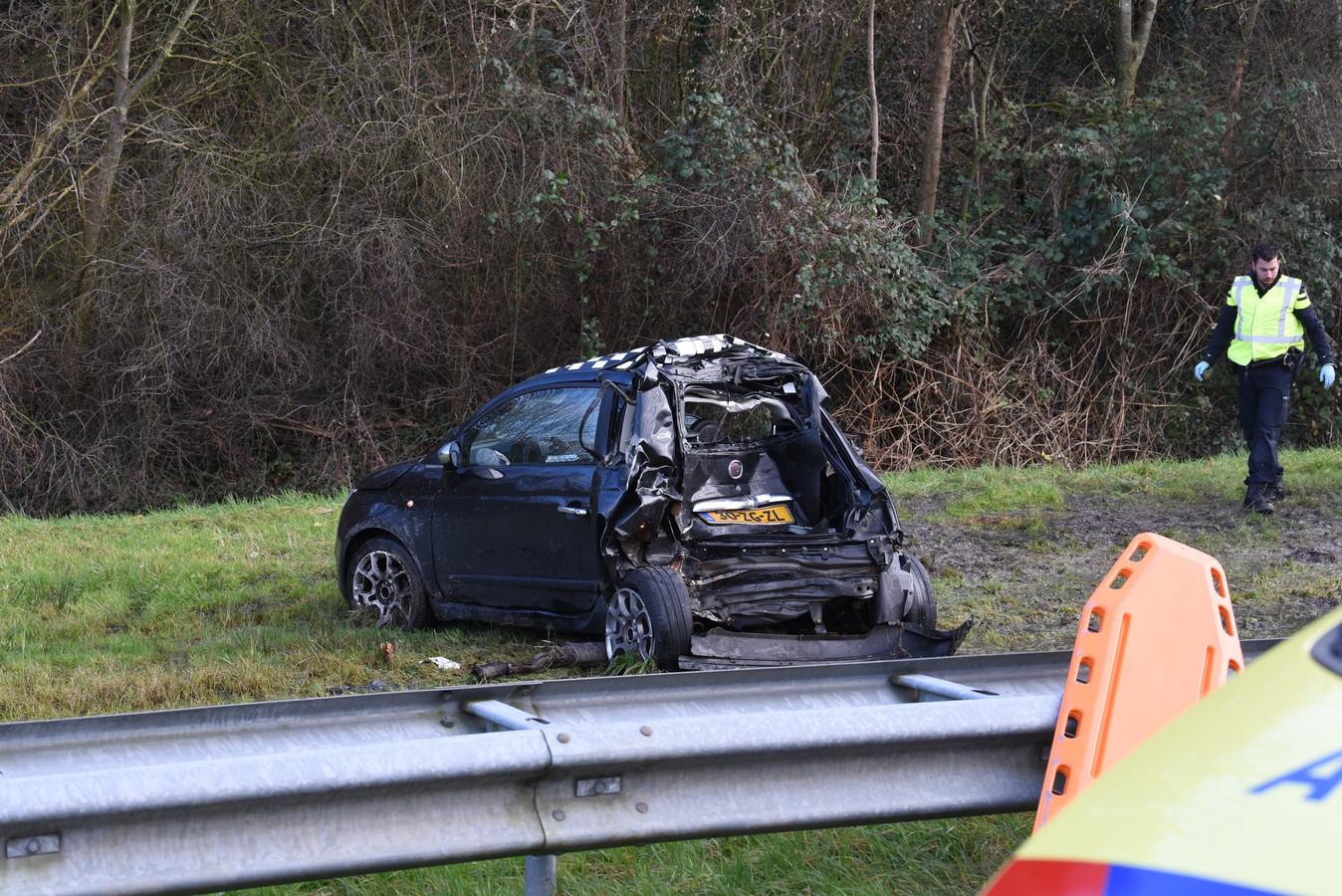 Zwaar ongeval bij A2 Nieuwegein