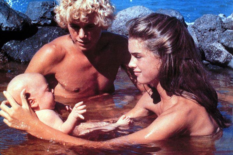 Christopher Atkins en Brooke Shields in The Blue Lagoon. Beeld ANP