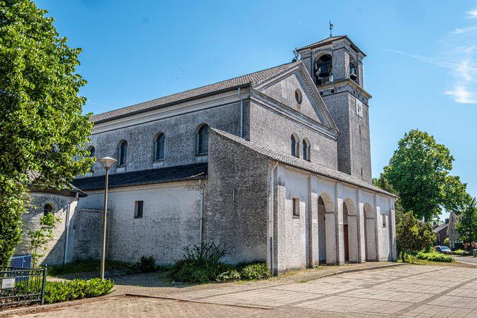 De Heilig Hartkerk in De Horst.