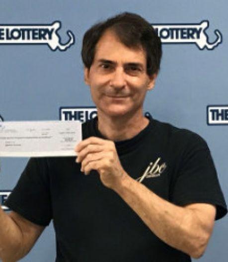 Man wint jackpot van 1 miljoen dollar voor de tweede keer binnen vier jaar