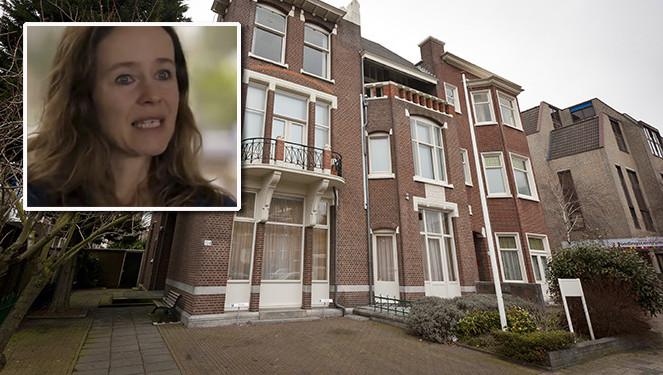 De levenseindekliniek in Den Haag. inzetje: Gaby Olthuis in het programma Altijd Wat