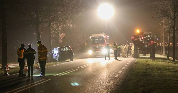 Meerdere gewonden bij ernstig ongeluk in Luttelgeest.