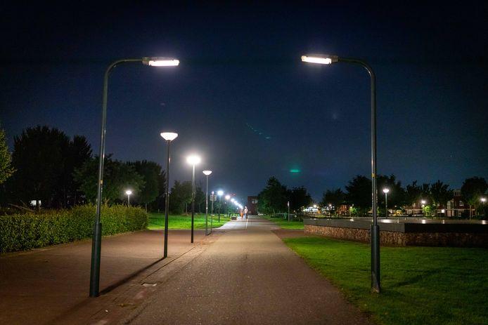 'De expresseie van lantaarnschijnsel'.