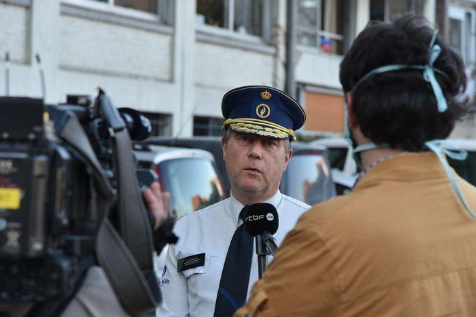 Korpschef Patrick Evenepoel.