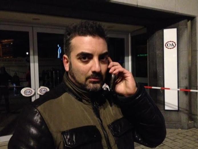 Bedrijfsleider Babak Farahmand Pour.