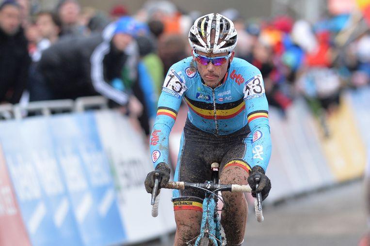 Sven Nys eindigde in het achterveld Beeld BELGA