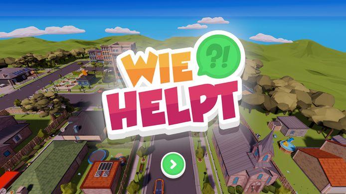 Screenshot uit de game 'Wie helpt' die tanteLouise ontwikkelde om signalen van ouderenmishandeling te leren herkennen.