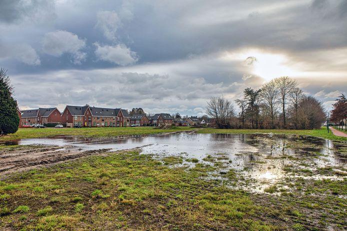 Op dit terrein aan de Beljaartlaan in Dongen begint binnenkort de vijfde fase van het bouwproject Beljaart.