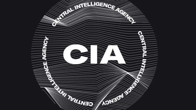 Nieuwe logo van de CIA, dat meer diversiteit moet uitstralen. Beeld