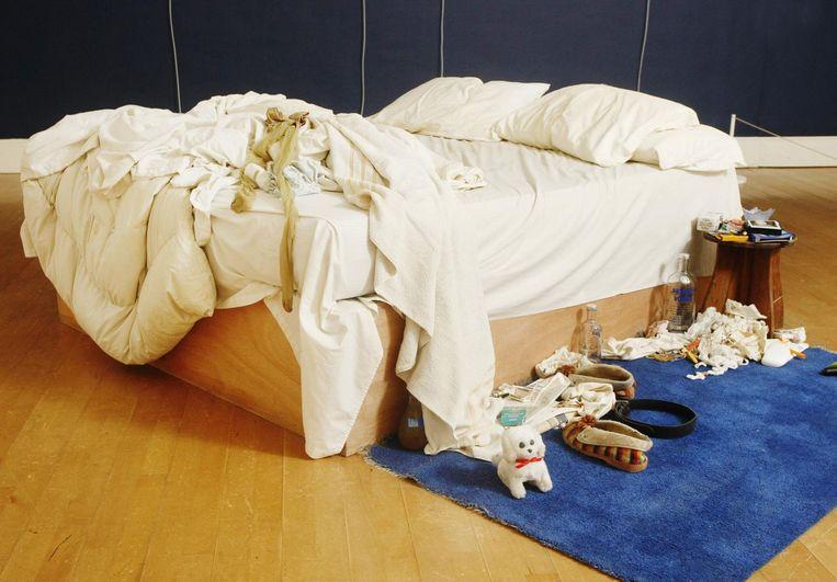 The Bed van Tracy Emin Beeld anp