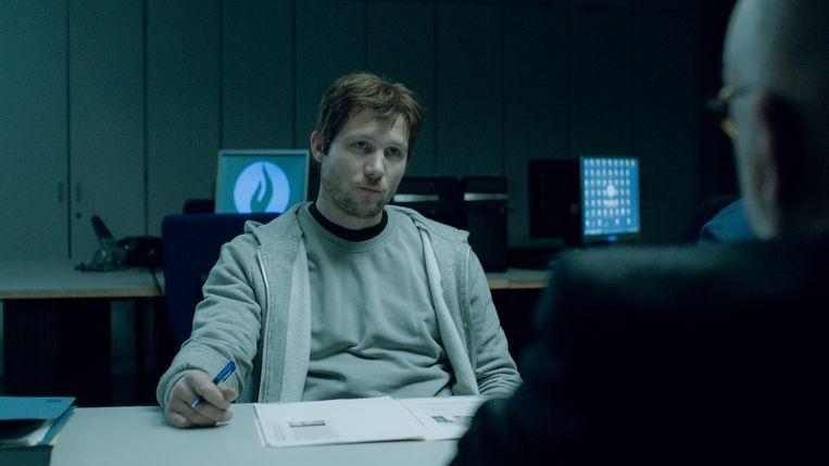 Jeroen Perceval als Arne Michiels in 'De dag'. Beeld VIER