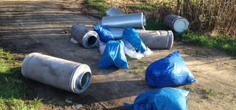 Drugsafvaltrein dendert dit jaar onverminderd voort in West-Brabant