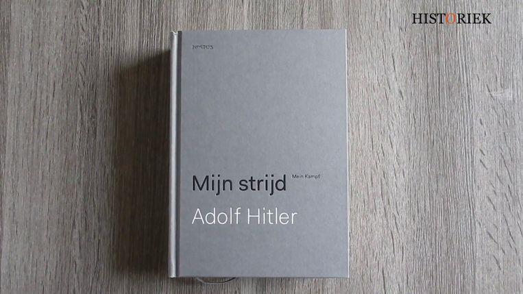 'Mijn Strijd' van Adolf Hitler ligt sinds deze week opnieuw in de boekhandel. In een wetenschappelijke versie met begeleidend commentaar.
