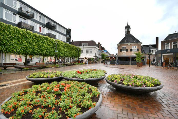 Bloemen op de Koornmarkt.