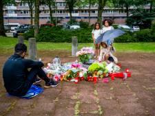 Bloemen en tranen op plek waar Wisam werd neergeschoten: 'Dat een jongen van 37 zo eindigt'