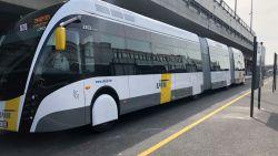 Hier is ie dan: de eerste trambus. Hybride voertuig rijdt vanaf september om het kwartier tussen UZ Jette en Brussels Airport