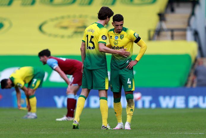 Norwich degradeert naar The Championship.