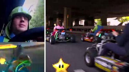 Mario Kart in 't echt: leuk, maar levensgevaarlijk (en dan mag je nog niet eens met bananenschillen gooien)