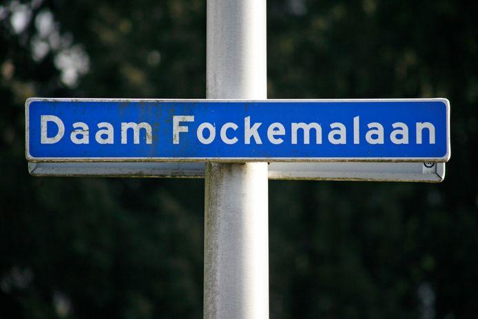 Een straatnaambordje in Amersfoort