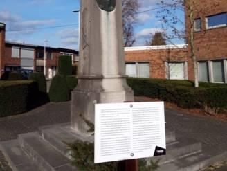 """Stad plaats duidingsbord bij omstreden standbeeld Jules Van Dorpe: """"Ook zwarte bladzijde uit geschiedenis moet verteld worden"""""""