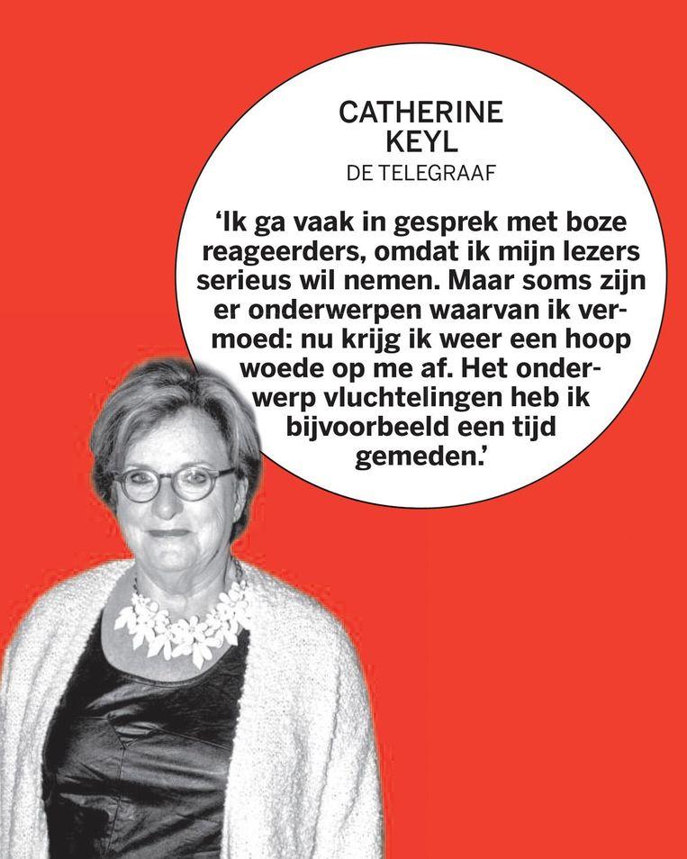 Catherine Keyl, de Telegraaf Beeld
