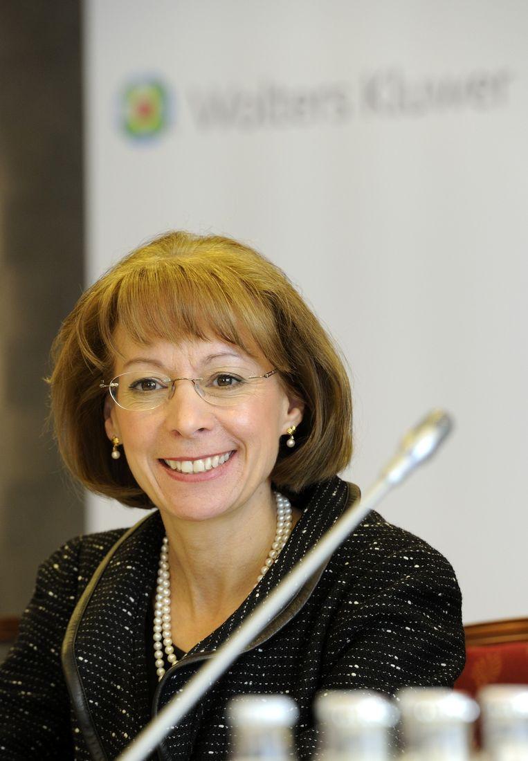 Nancy McKinstry van Wolters Kluwer. Beeld anp