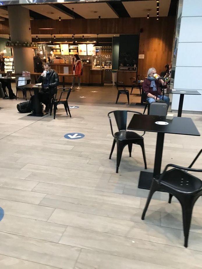 Op Zaventem kan u wel nog tafelen, zij het alleen wanneer u het vliegtuig neemt of landt op Brussels Airport.