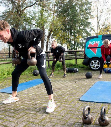 Personal trainer Henri uit Apeldoorn: 'Voor veel thuiswerkers is sporten nog het enige uitje'