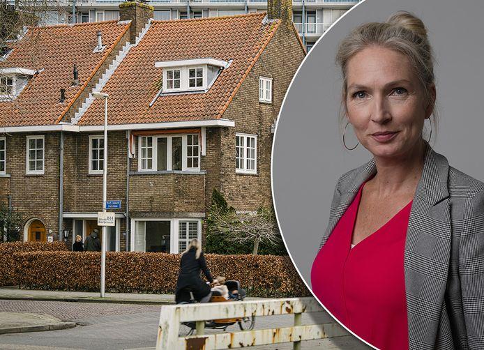 AD-verslaggever Eefje Oomen krijgt rode vlekken van een 'vastgoedhaai' die het op haar woning heeft gemunt