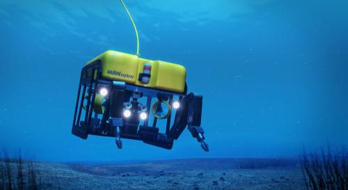 Beeld ter illustratie. De nieuwe regelgeving is onder meer van toepassing op Remotely Operated Vehicles of robots die vanuit een controlekamer bediend worden en zijn ideaal om gericht onderzoek uit te voeren op de zeebodem