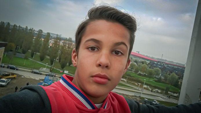 Selfie van Ilias in Leidsche Rijn, een half jaar voor het fatale ongeluk.