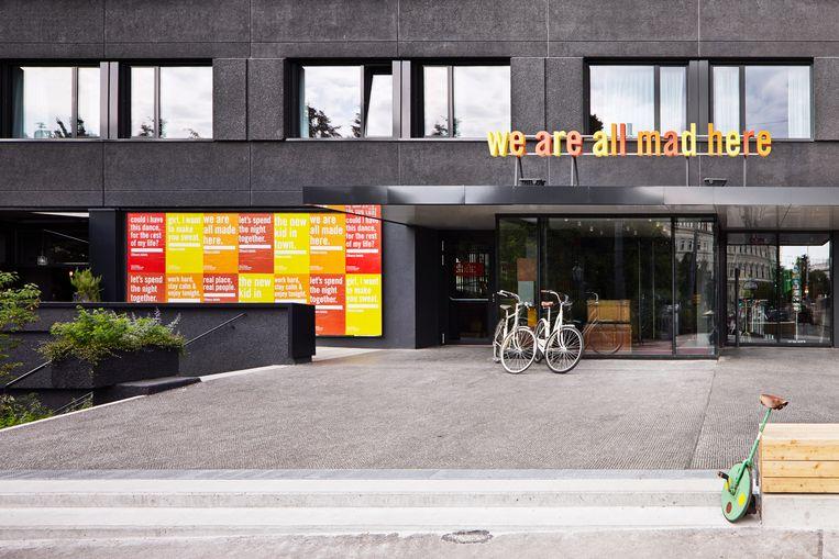 25hours Hotel in het museumkwartier in Wenen Beeld Stephan Lemke