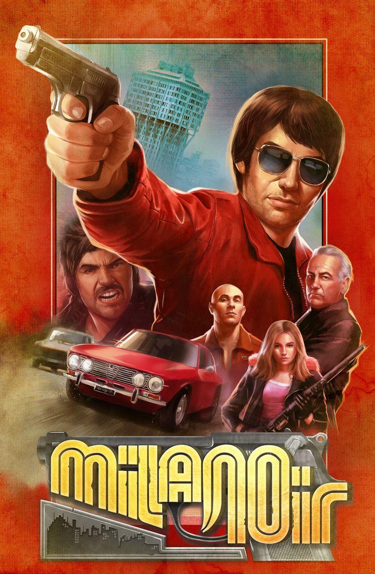 'Milanoir' haalde zijn inspiratie bij Italiaanse gangsterfilms uit de jaren 70. Beeld Devolver Digital