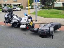 Scooterrijder (17) rijdt tegen motoragent aan tijdens achtervolging in Alblasserdam