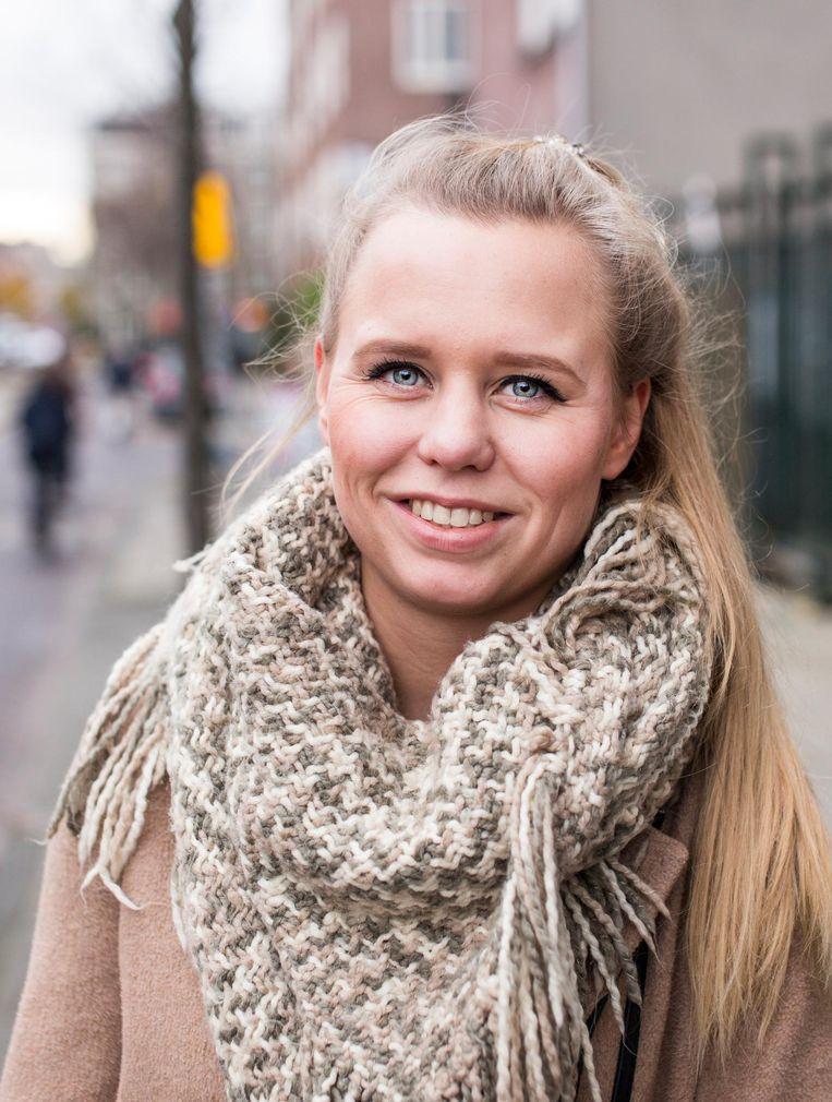 Kyra Mulder (22) Beeld Eva Plevier