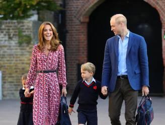Prins George wordt niet naar internaat gestuurd, in tegenstelling tot zijn vader