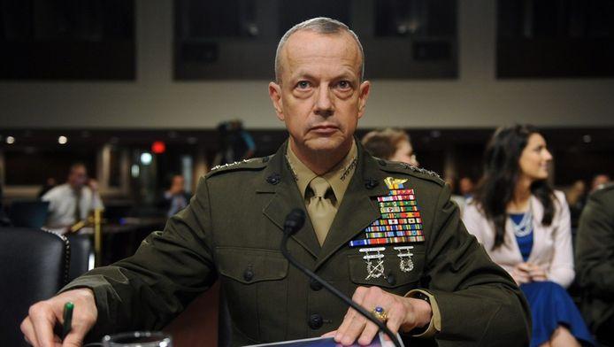 """John Allen: """"De Isaf-troepen zijn op weg om de oorlog te winnen."""""""