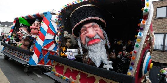 Carnaval in Aalst heeft lak aan alle verwijten over Joodse karikaturen