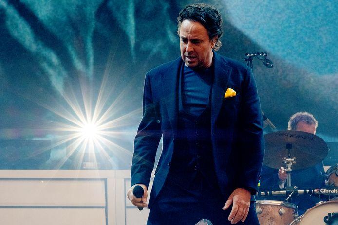 Marco Borsato tijdens zijn concertreeks in de Kuip.