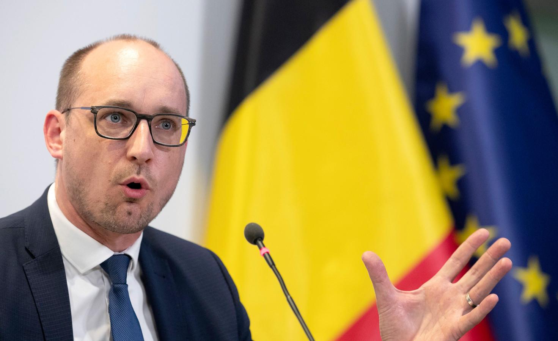 Minister van Financiën Vincent Van Peteghem.