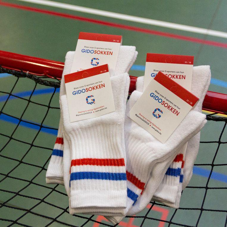 G-sportclub Gidos verkoopt sokken.