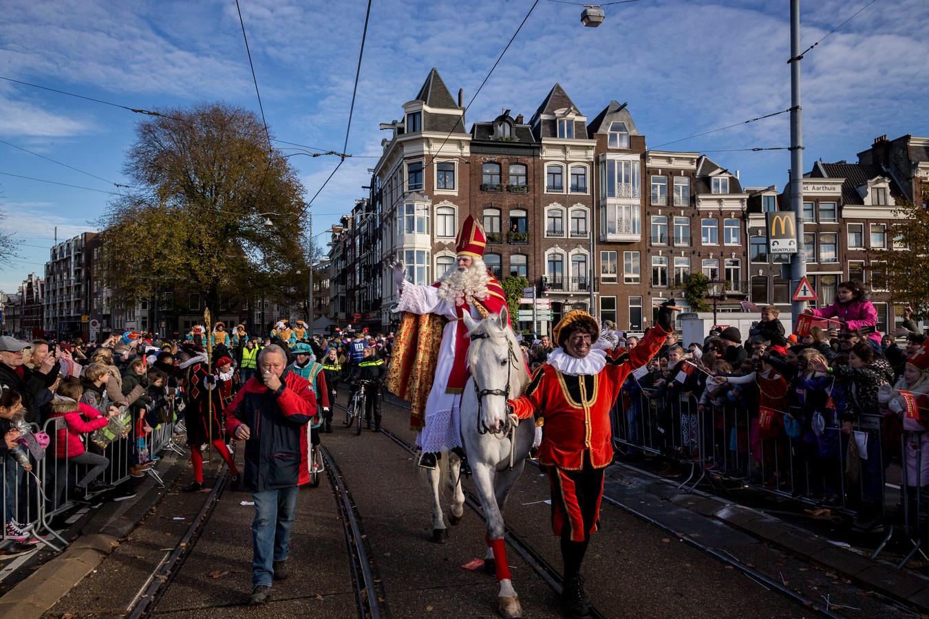 Sinterklaas in Amsterdam.