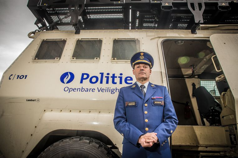 Politiebaas Marc Demesmaeker.