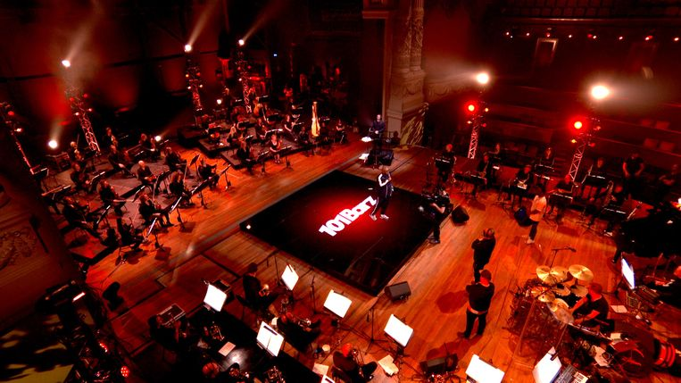 101Barz featuring Metropole Orkest. Beeld BNN/Vara