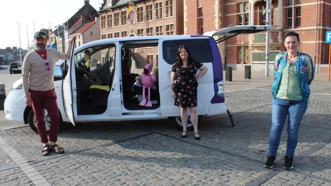 """#EekloHelpt start vervoersdienst met, voor en door mensen die 'anders' zijn: """"Wij stappen niet zomaar in een bus of taxi"""""""