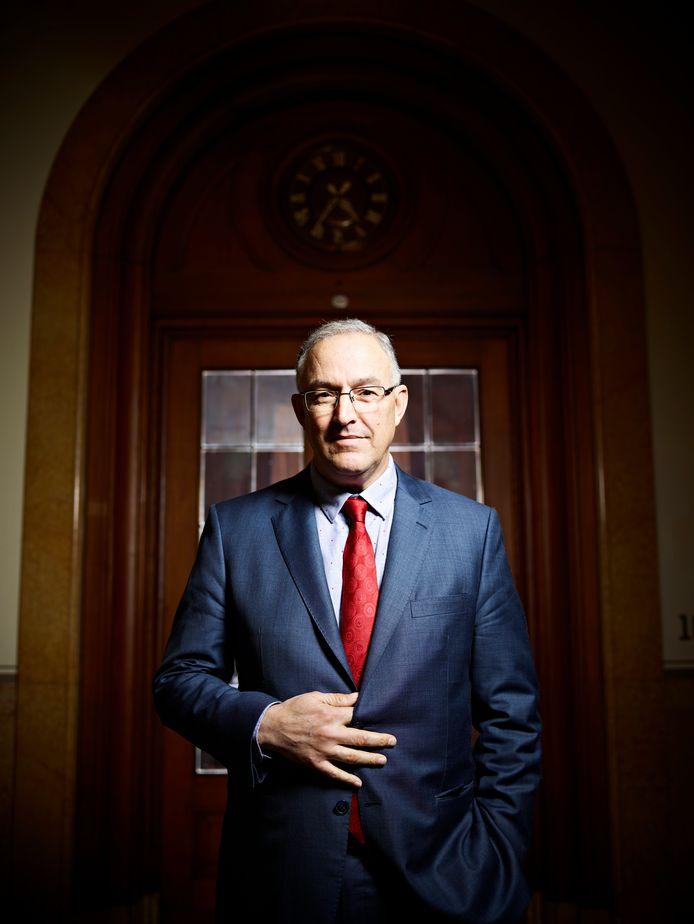 Ahmed Aboutaleb, burgemeester van Rotterdam.