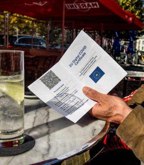 """La Flandre a tranché: pas d'élargissement du Covid Safe Ticket, pas de """"société du pass sanitaire"""""""